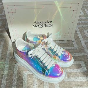Alexander McQueen Iridescent Sneakers